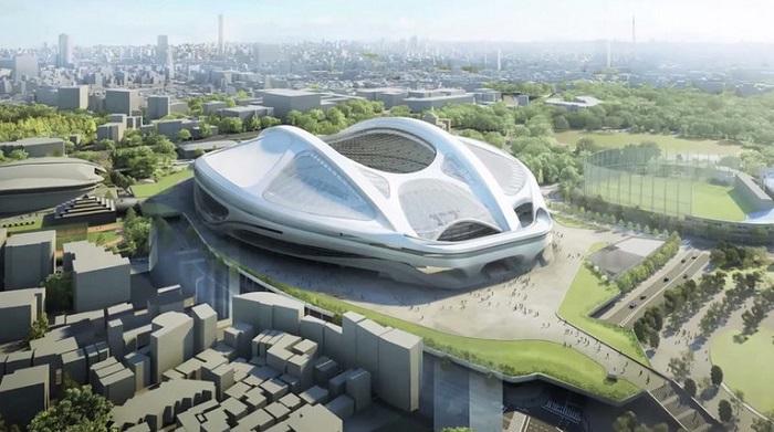 проект олимпийского стадиона 2020 года в Токио