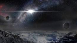 Яркая сверхновая звезда