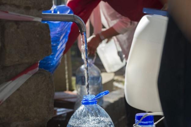 Колонка с пресной водой в южноафриканском городе Кейптаун